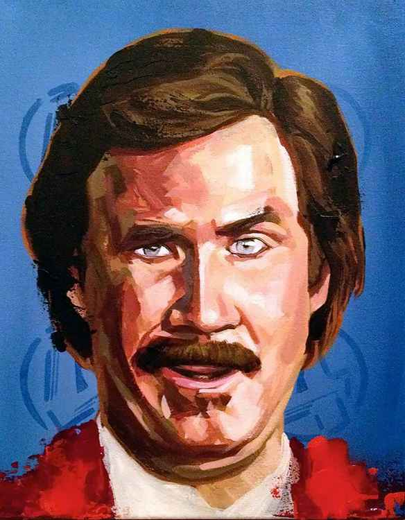 Ron Burgandy -