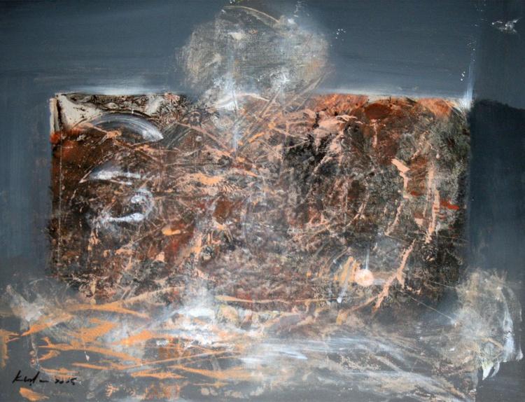 ONIRIC ART BY OVIDIU KLOSKA Beyond the inside series, composition 15 , signed january 2014 - Image 0