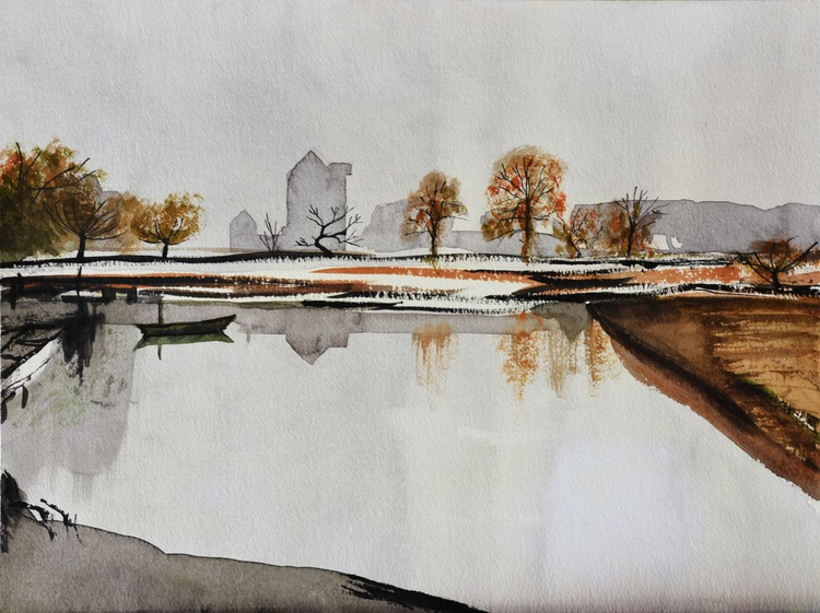 Tribute to Rowland Hilder No. 2 - Image 0