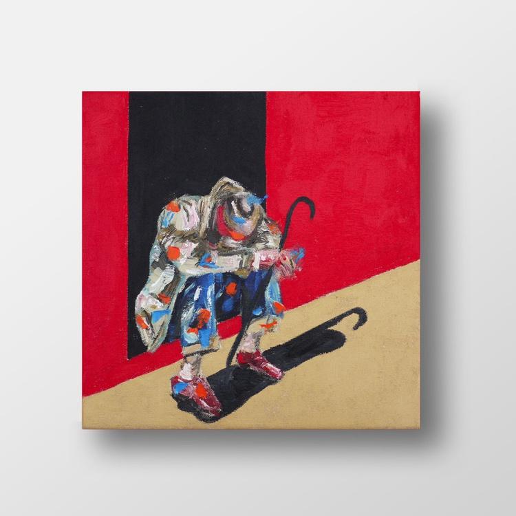 Man in doorway - Image 0
