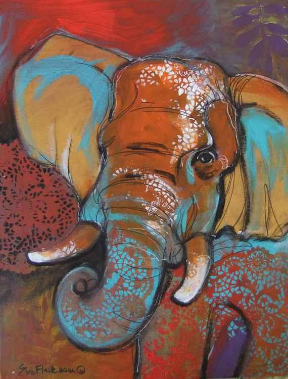 Elephant's head -