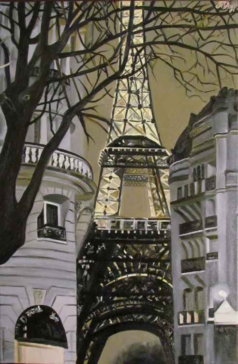 """Paris at midnight"""