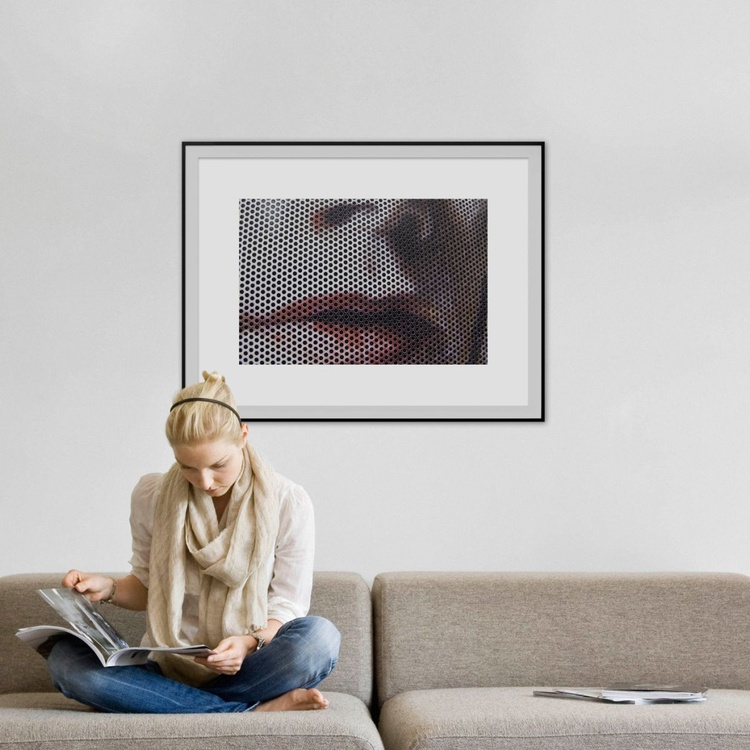 """LIPS  (LIMITED EDITION 1/10) 30"""" X 20"""" - Image 0"""