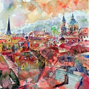 Prague by Kovács Anna Brigitta