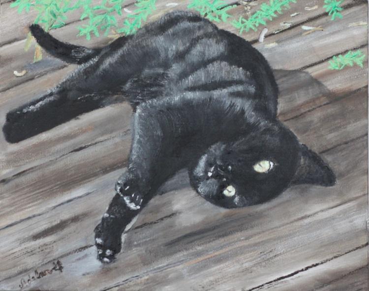 Black Kitten Spirit - Image 0