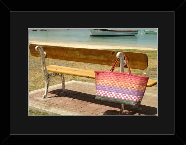 Left Behind - Mauritius - Framed - Image 0