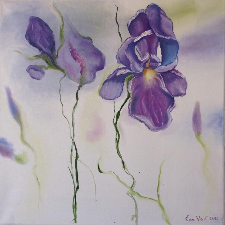 """Fleur de lis 20x20"""" - Image 0"""