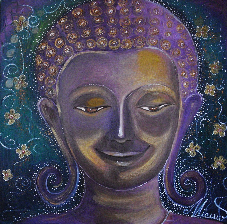 My Buddha's smile  no.2 - Image 0