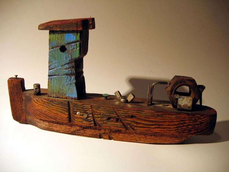 wooden ship BCII - Image 0
