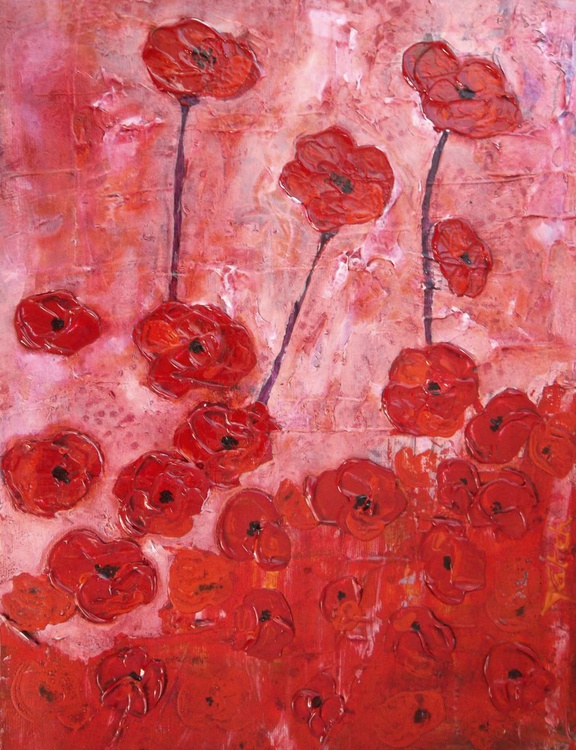 [102] Poppies In The Pink - Image 0