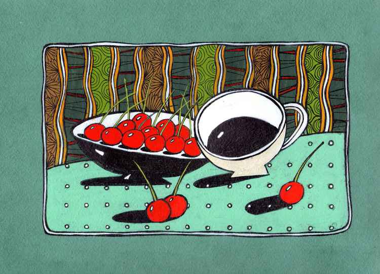 Coffe & cherries