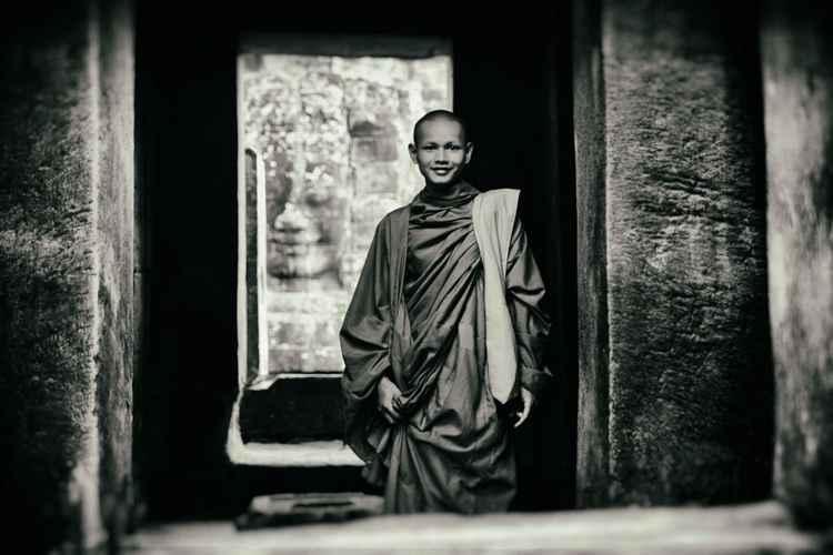 Angkor Monk -