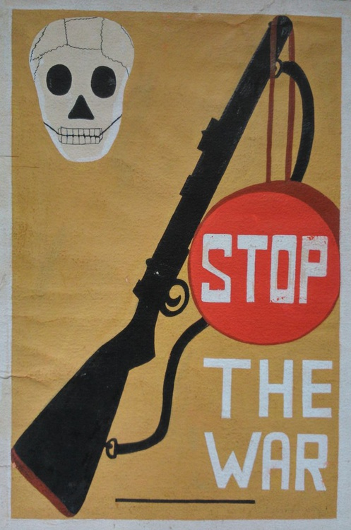 POSTER - STOP THE WAR - (((\\\///))) - Image 0