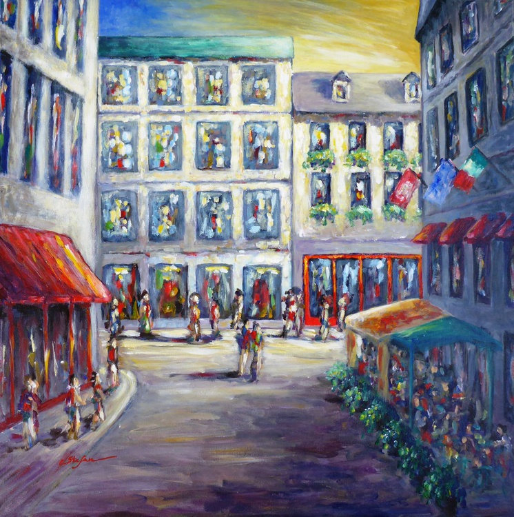 Street in Old Montreal - Image 0