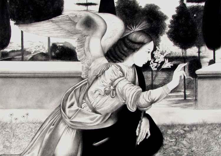 L'Annunciazione by Leonardo da Vinci -