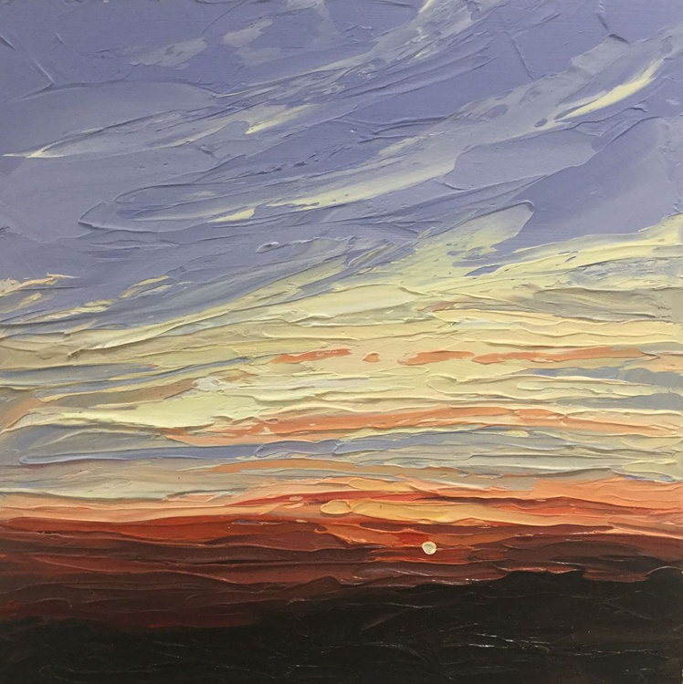 Coombe Hill Sunset - Image 0