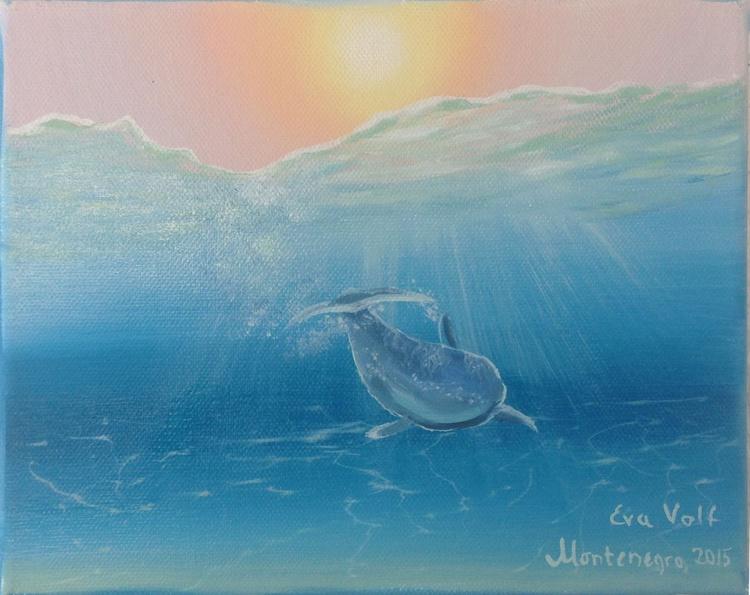 "Underwater Light 10x8"" - Image 0"
