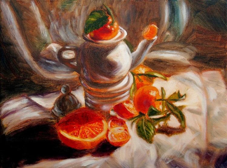 Orange tea - Image 0