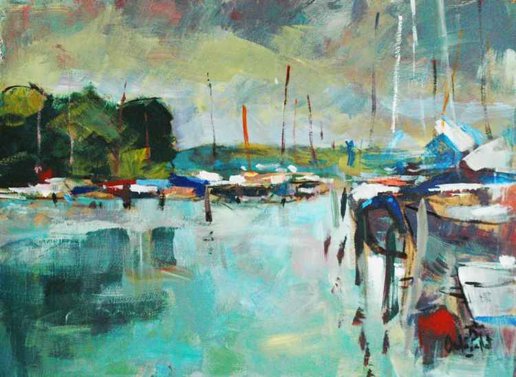 Boats at Birdham -