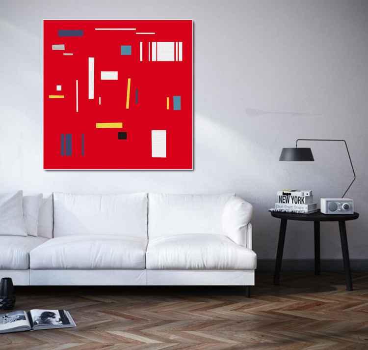 Red rhythm -