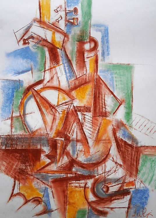 Cubist still life - Image 0