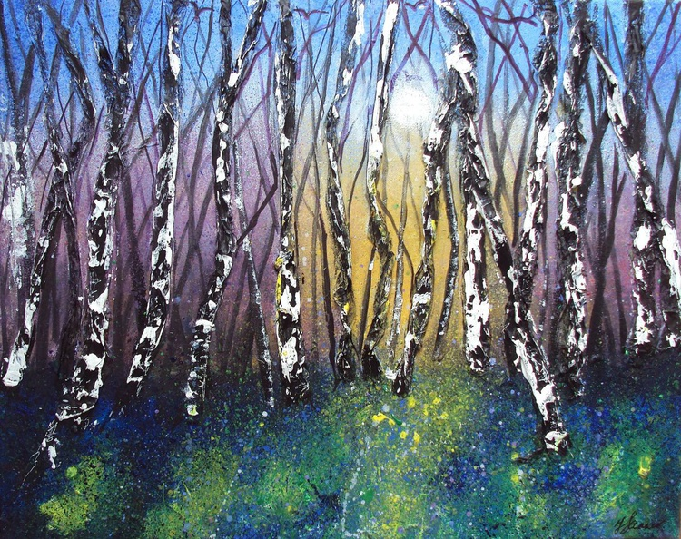 Birch wood impression - Image 0