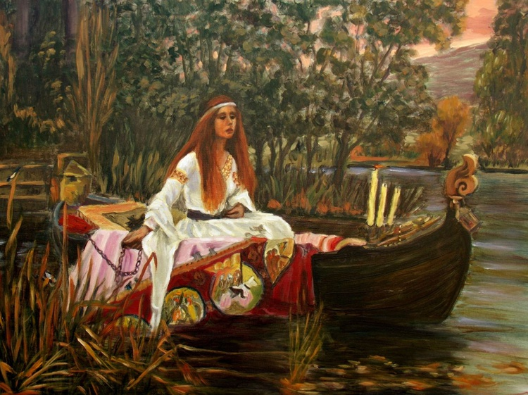 The Lady of Shalott - Image 0