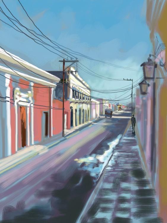Pink Street, Merida, Mexico - Image 0