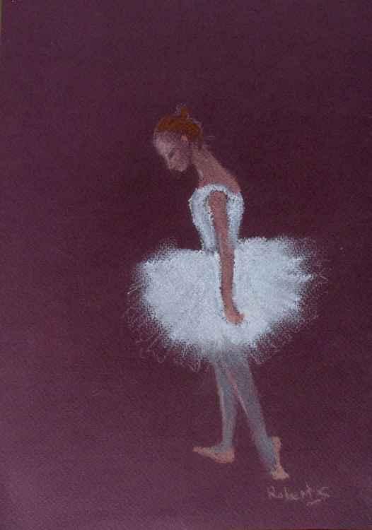 Ballerina  (pastel)