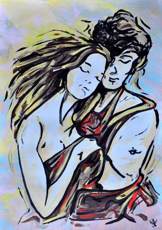 Abstract Lovers 008 - Image 0