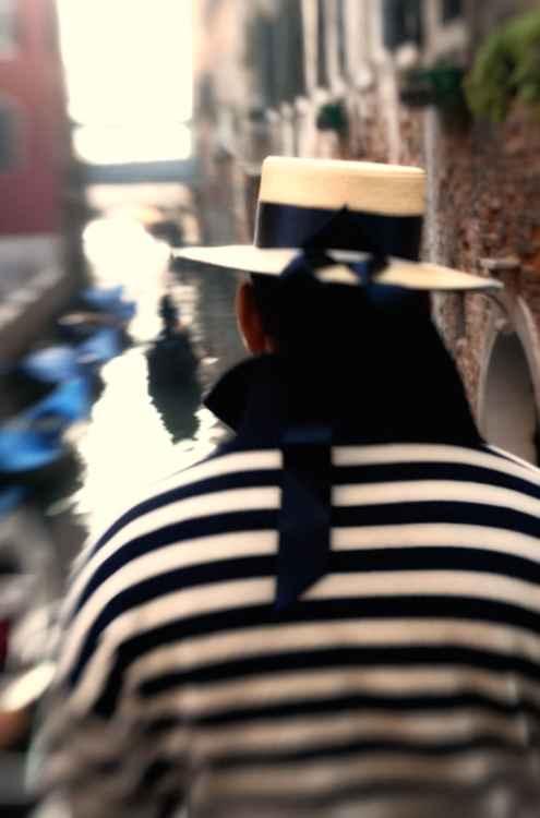 Gondolier - Venice -