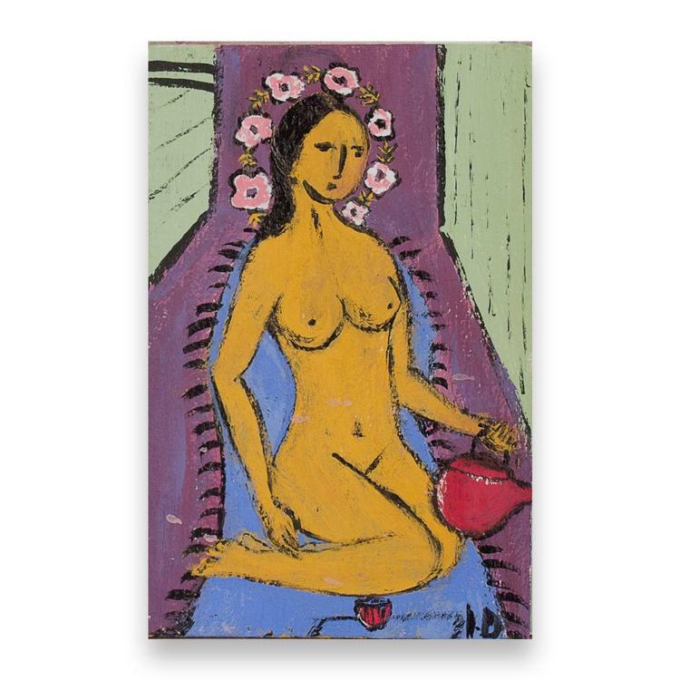 Nude with tea pot - Image 0