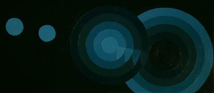 Geometric 005 (1+1+5+6 circles, 2 centimetres, 10 degrees)