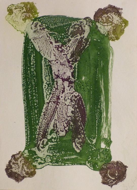Prolegomena #66 , Acrylic on paper 42x29 cm - Image 0
