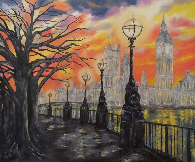 London Lights (Very Large Panoramic) - Image 0