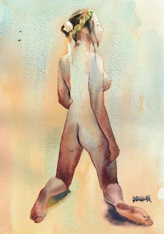 'Nude Kneeling'