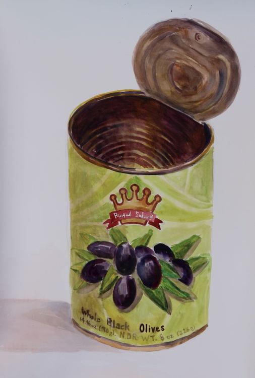 Whole Black Olives - Image 0
