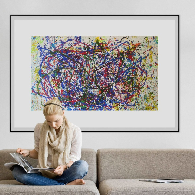 A homeage to Jackson Pollock - Image 0