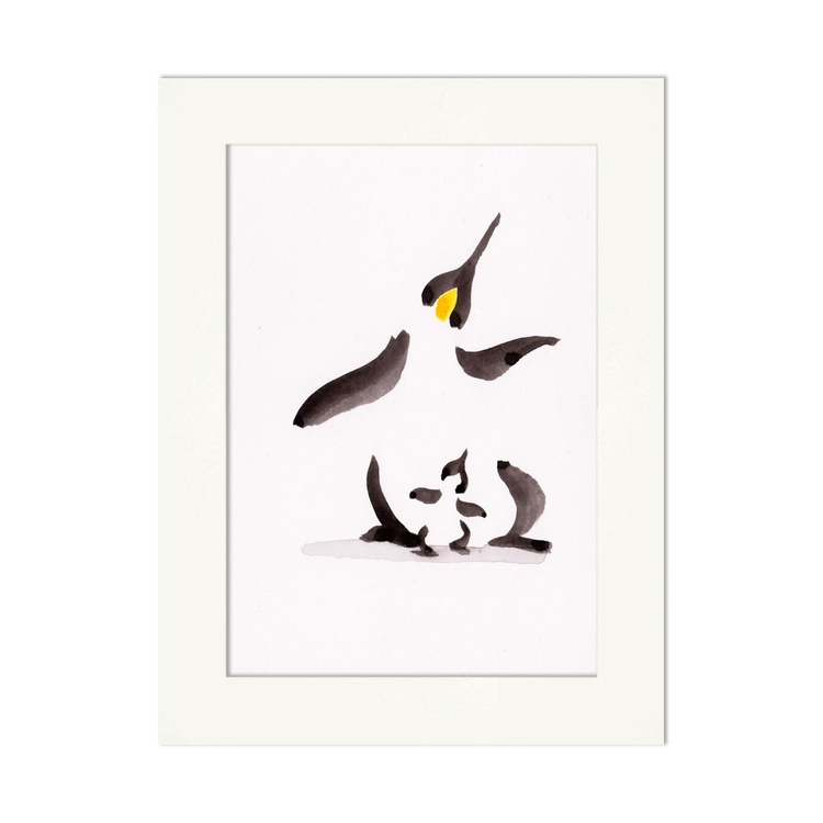 Penguin and a chick 6 - Image 0
