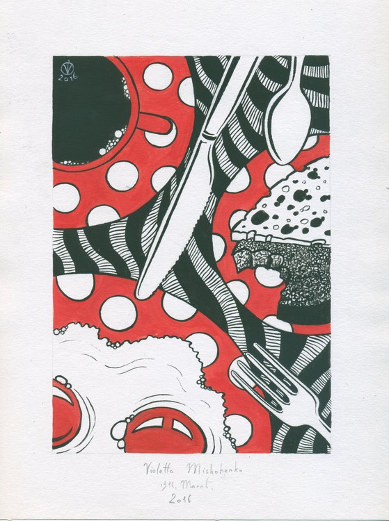Polka Dot Breakfast #2 - Image 0