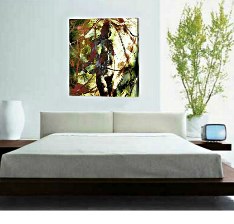 Slave Or God #3 - From a Limited Edition Canvas Print - Image 0