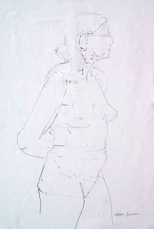 Life Drawing No 41 -