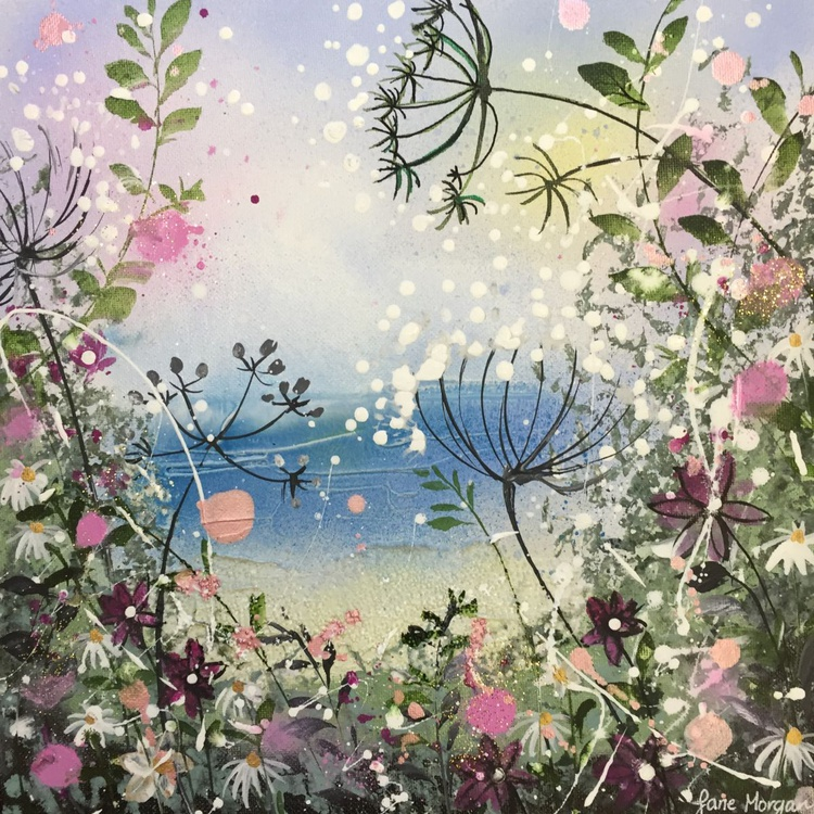 Cow parsley by the sea - Image 0