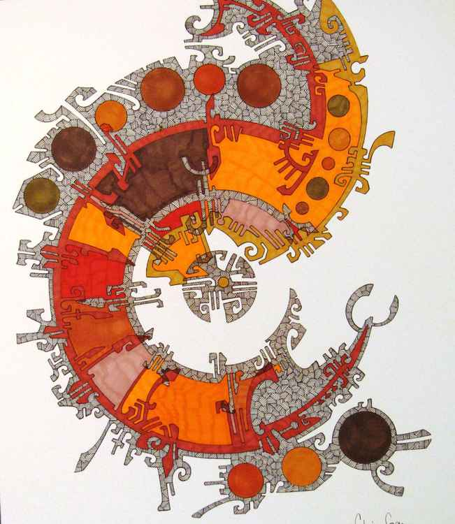 Native Spiral -