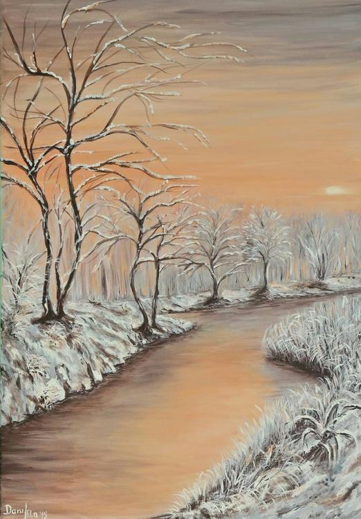 Winter's sunset - Image 0