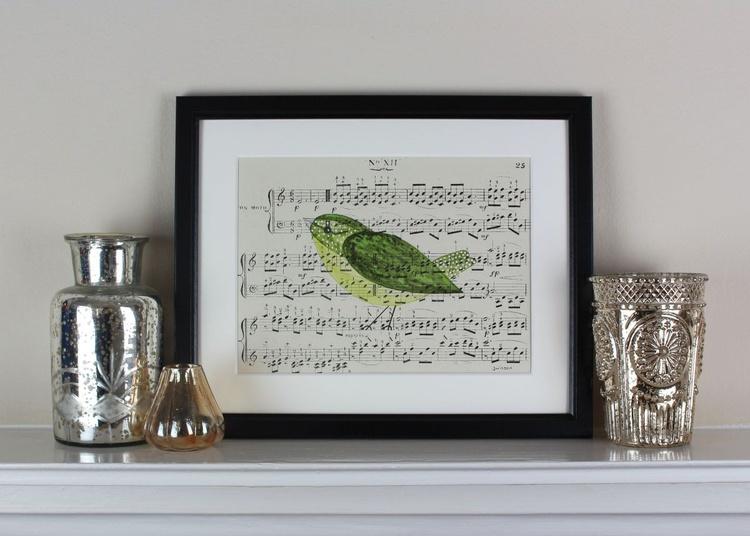Songbird No 12 - framed - Image 0