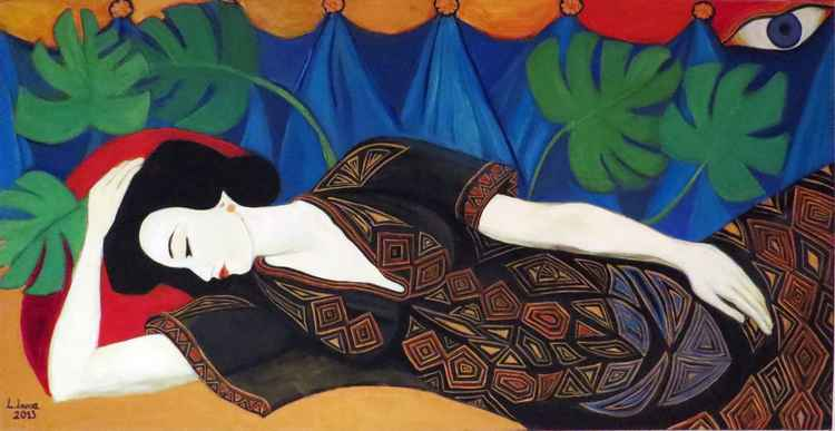 Sleeping Geisha