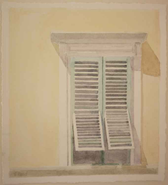 Window in Castagneto Carducci -
