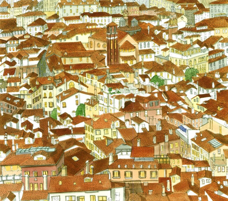 Venice Rooftops - Image 0