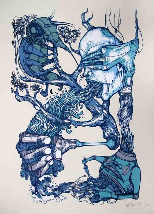 'The Unseen' (Blue)